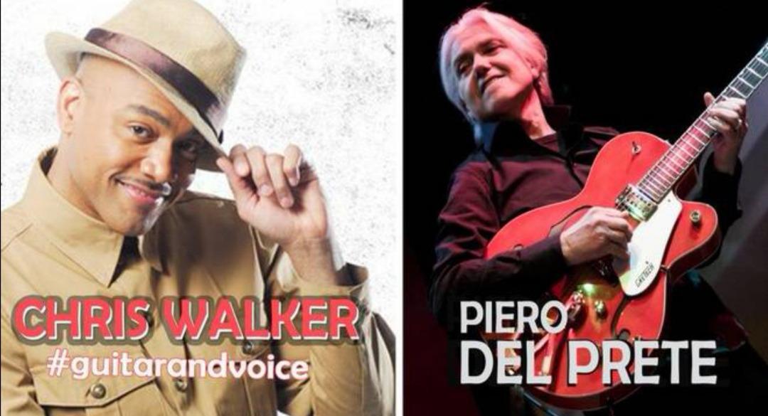Il sound di Piero Del Prete incontra Chris Walker